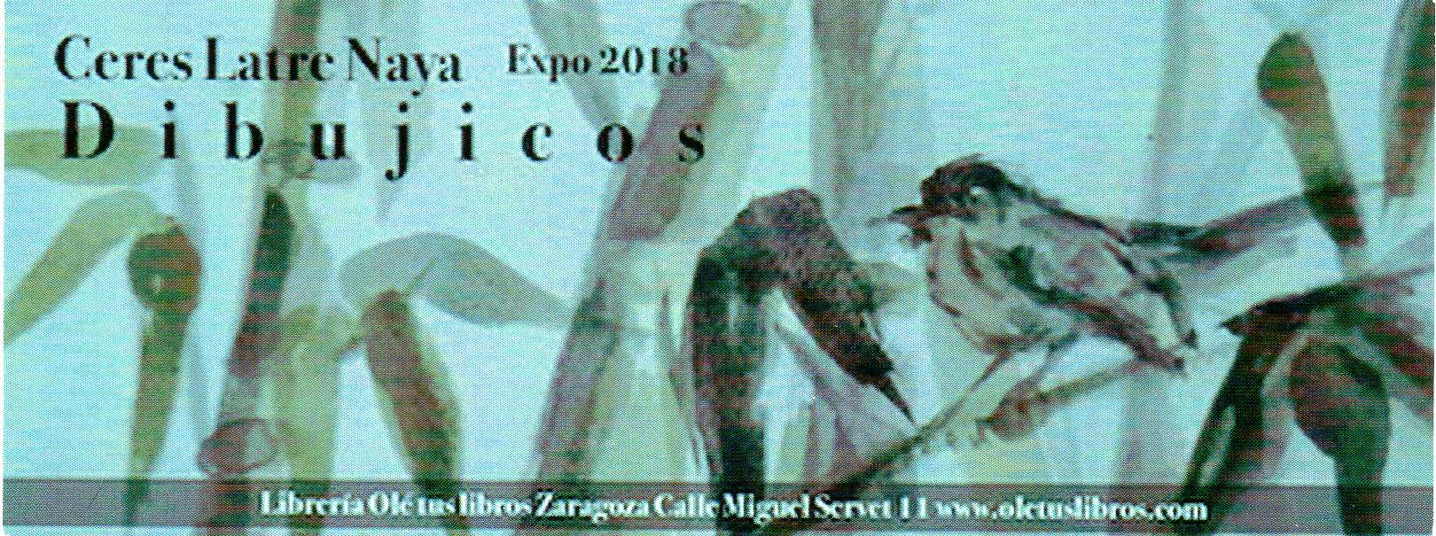 EXPOSICION DIBUJICOS DE CERES LATRE NAYA