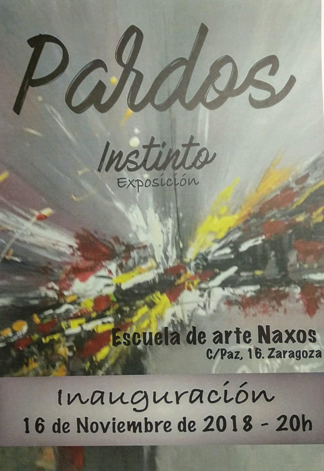 INSTINTO. ESPERANZA PARDOS. PRÓXIMA EXPOSICIÓN DE ARTE EN NAXOS